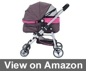 Pawhut Four Wheel Cat Stroller Review