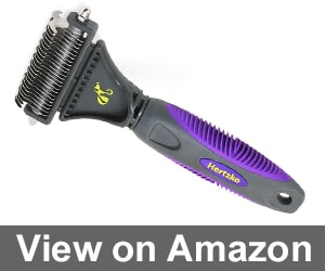 Pet Dematting Comb By Hertzko Review