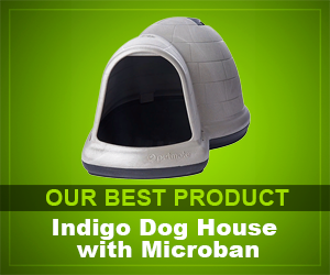 Indigo Dog House with Microban review