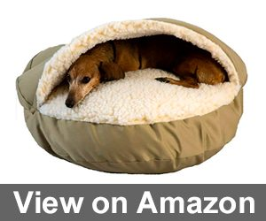 Cozy Cave Pet Bed in Poly Cotton Review