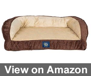 Serta Ortho Quilted Couch Pet Bed Review
