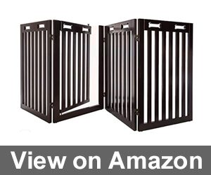 Arf Pets Free Standing Wood Dog Gate Review