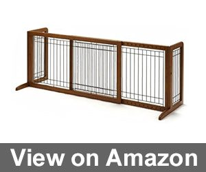 Richell Wood Freestanding Pet Gate Review