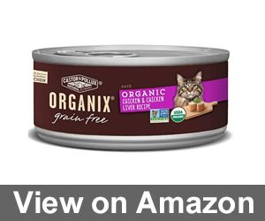 Organix Organic Canned Cat Food Chicken & Chicken Liver Pate Review