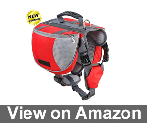 Lifeunion Adjustable Service Dog Supply Backpack Review