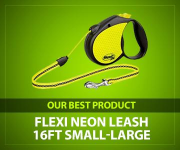 Flexi Neon 16-Foot Leash review