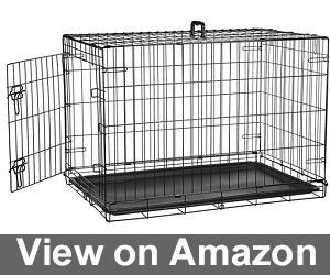 Amazon Basics Metal Dog Crates Review